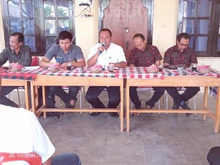Sosialisasi Program PAMSIMAS Di Desa Kekeran Dari kabupaten